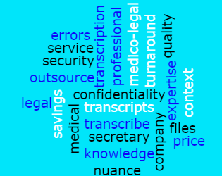 Why outsource your medico-legal transcription?